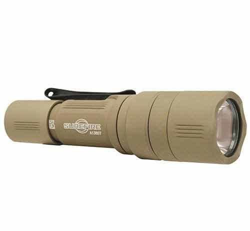 Surefire EB1 Backup review Flashlight clicky switch output