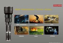 Waterproof tactical flashlight – best underwater flashlight