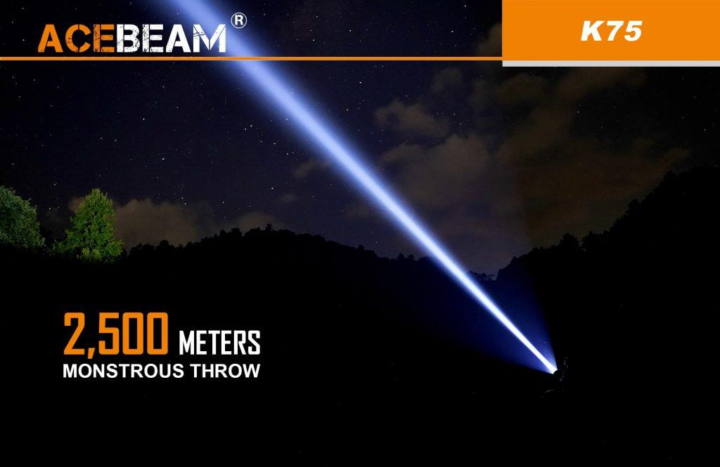 acebeam flashlight k75