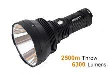 Acebeam flashlight 6300 lumens