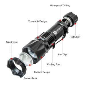 flashlight parts