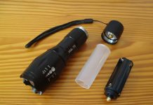 tactical flashlights e17 ultrafire