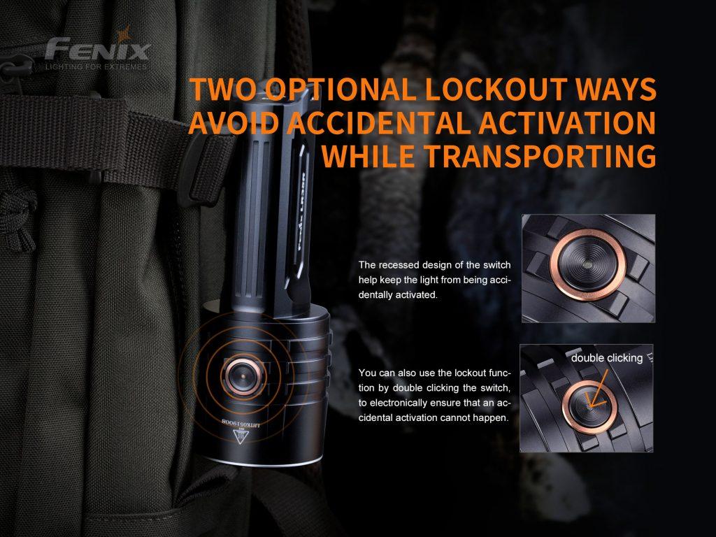 fenix flashlight lr35r