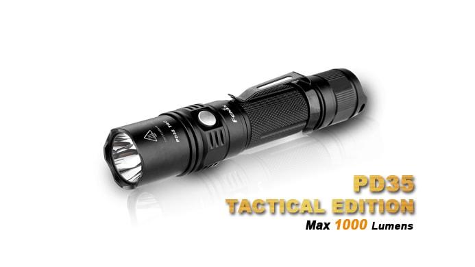 best fenix flashlight pd35 tac