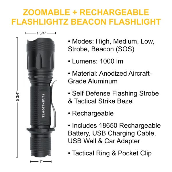 budget tactical flashlight