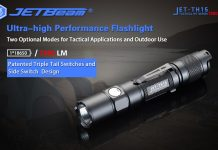 best tactical flashlight jetbeam th15