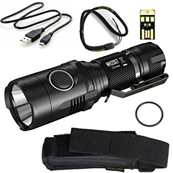 Nitecore MH20GT best small rechargeable led flashlight