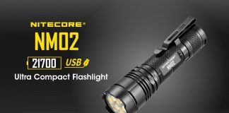 nitecore nm02 everyday carry flashlight