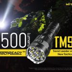 Nitecore TM9K tactical pocket flashlight