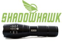 Shadowhawk x800 tactical flashlight