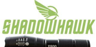 Shadowhawk x800 tactical flashlight