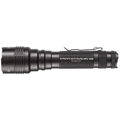 rechargeable tactical flashlight streamlight protac hpl