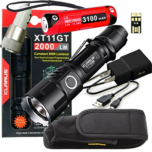 best tactical flashlight xt11gt