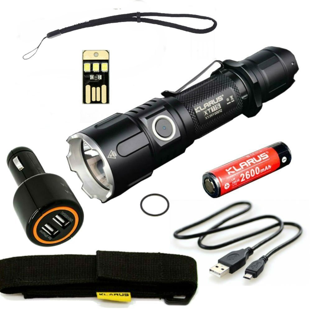 Klarus XT11S tactical Flashlight Review